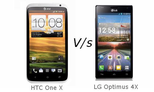 Smartphone War: HTC One X Vs LG Optimus 4X