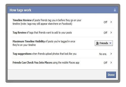 How to untag photos in Facebook?