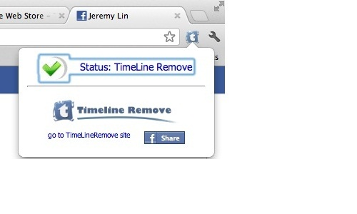 How to hide Facebook Timeline with TimelineRemove?