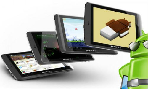 ICS update for Archos G9 tablets