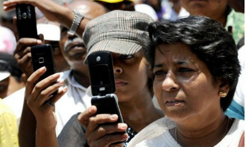 India has over 900 million mobile subscribers