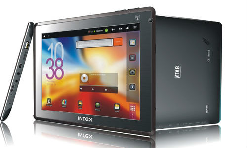 Intex iTab tablet launched in India