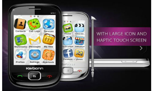 Karbonn KT61 Iconik,  new low cost touch phone