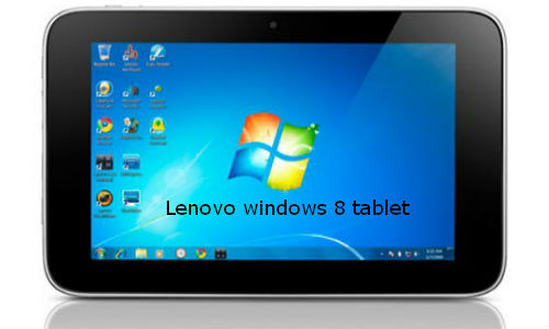 Lenovo joins the race to create an 8 inch Windows tablet