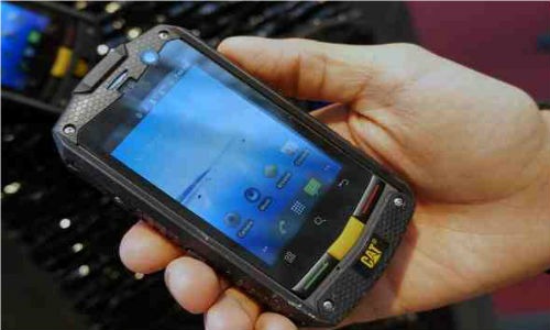 New Rugged Smartphone From Caterpillar