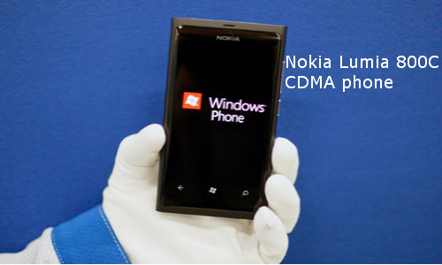 Nokia Lumia 800C: CDMA phone
