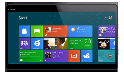 Nokia to release 10 inch Windows 8 tablet