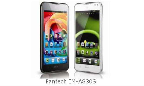 A high end smartphone from Pantech
