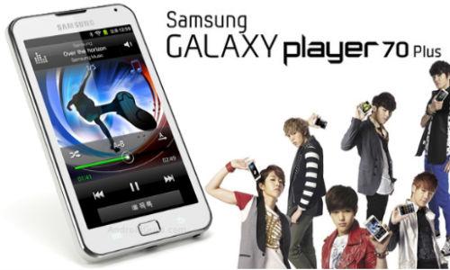 Samsung Galaxy Player 70 Plus new Music player