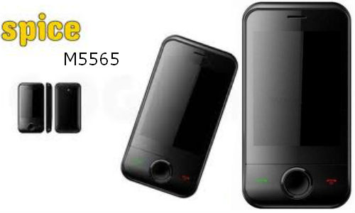 Spice launches RS 2500, touchscreen phone: M5565