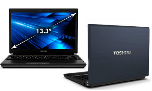 Toshiba R835-P88 latest version laptop