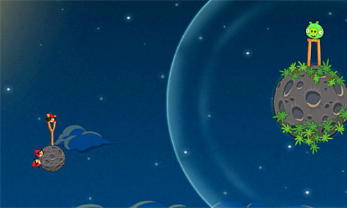 Angry Birds Space launched today