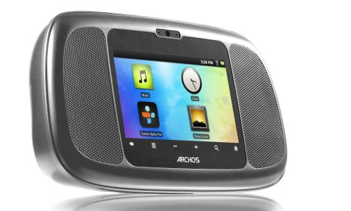Archos G35 Home; Android music system