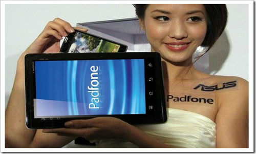 Asus Padfone, the first phone to get Jelly Bean update