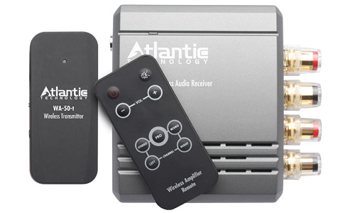 Wireless music system with 30 watt amplifier from Atlantic Technology