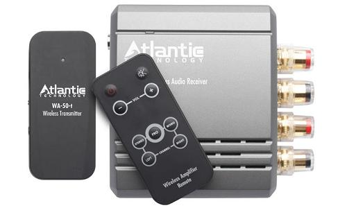 Wireless music system with 30 watt amplifier from Atlantic Technology