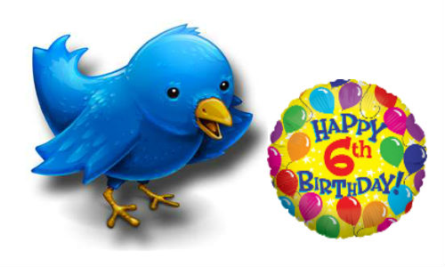 Twitter's sixth birthday