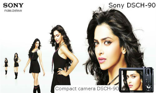 Sony new compact camera DSCH-90
