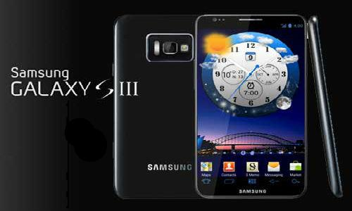 Display of Samsung Galaxy S3 rivals iPhone