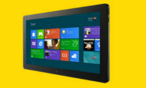 Gestures dominate Windows 8 tablet UI