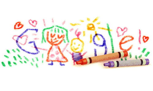 Google doodles Arab Mother's Day