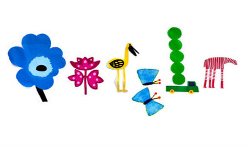 Google doodles spring season