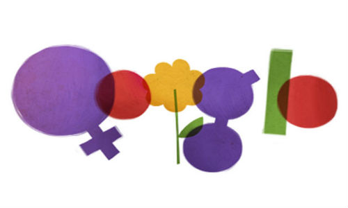 Google's International Women's Day doodle