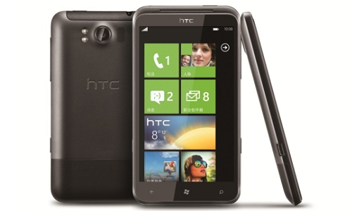 HTC Windows phone reaches the market