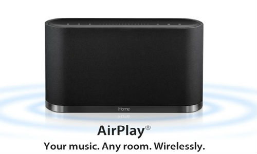 iHome to ship iW2 air play speakers soon