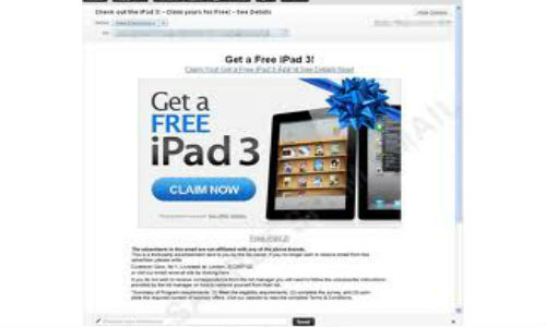 iPad 3 for free?