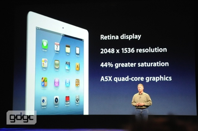 New iPad launch live coverage