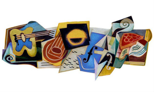 Google doodles Juan Gris' birthday