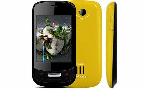 Karbonn K3000 Gamester affordable price phone