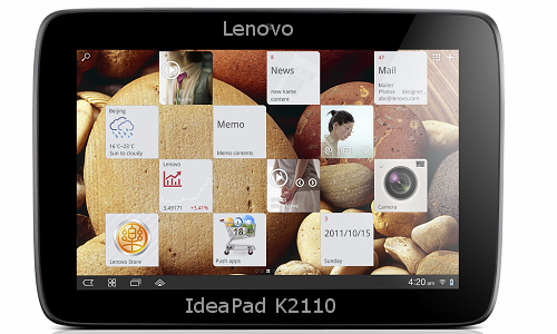 Lenovo IdeaPad K2110 Intel based Android tablet