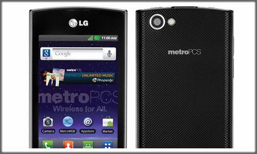 Optimus M+: LG's first Android phone