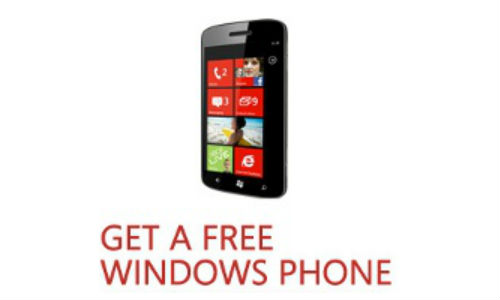 Microsoft offers free Windows Phone?