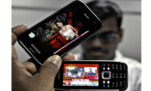 Mobile Phones ruling entertainment sector in India