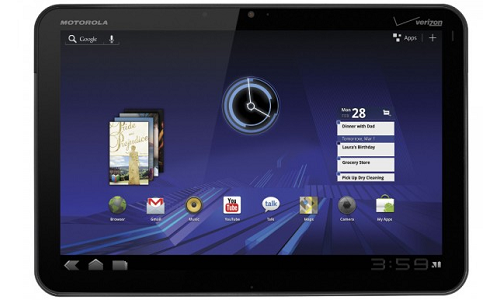 Motorola Xoom 4G upgrade will Stop by March end