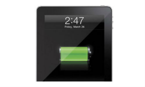 New iPad takes a long time to charge
