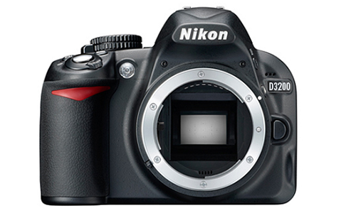 Nikon D3200 camera with 24 mp resolution