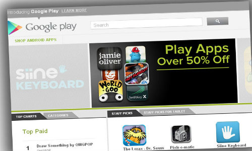 No more Android Market! Only Google Play!