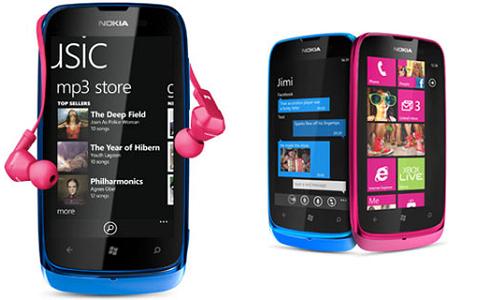 Nokia Lumia 610 and 710  Windows phones specifications
