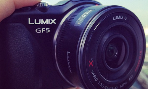 A first look at Panasonic Lumix GF5