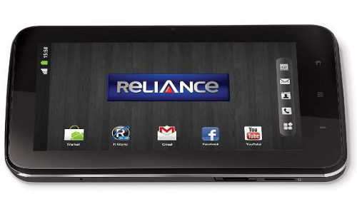 Reliance CDMA Tab: Detailed specifications