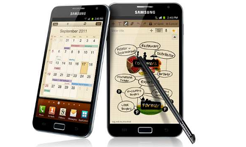 Exciting features with Samsung Galaxy Note ICS update