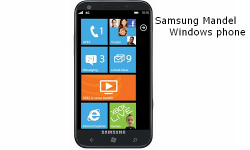 Samsung Mandel Windows phone unveils