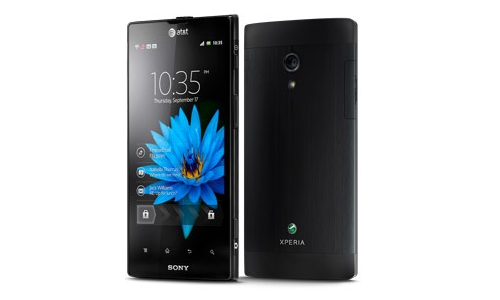 Sony Aoba Android phone preview