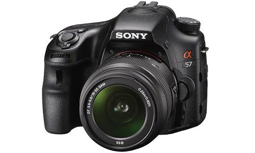 Sony's new single-lens translucent camera: SLT-A57