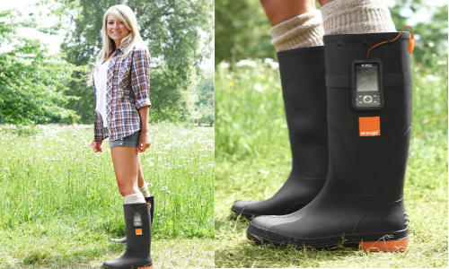 Now boots can charge your mobile phones