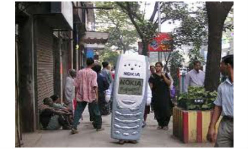 Mobile Phones are more in number than toilets in India